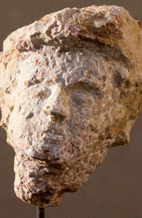 Marmorkonglomerat Kopf