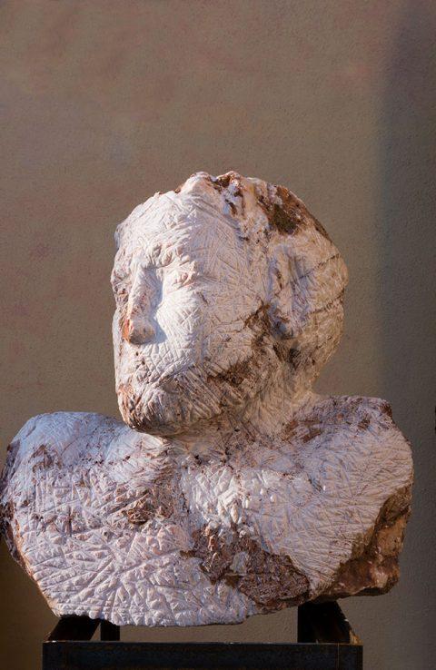 Marmorbüste Kopf