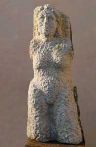 Skulptur Sandstein