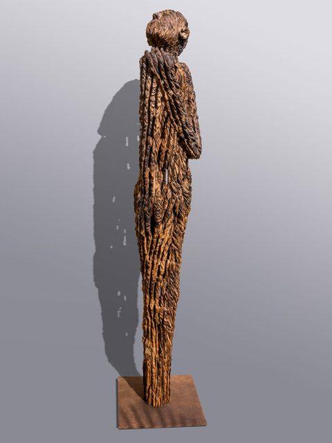 Eiche 400 Jahre alt, Holzskulptur