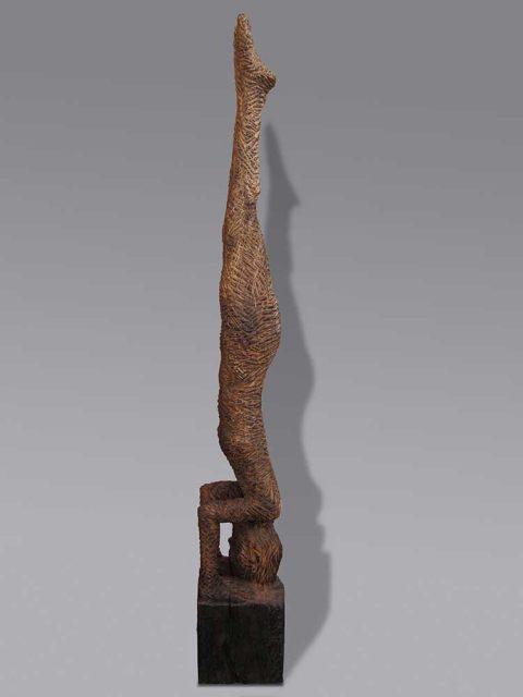 Pfahlholz, Eiche 400 Jahre alt
