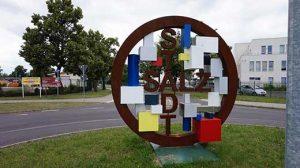 Kreisverkehr Kunst