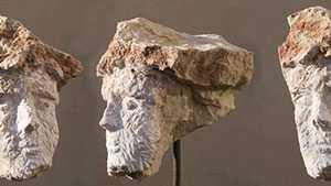 Steinskulptur Marmor